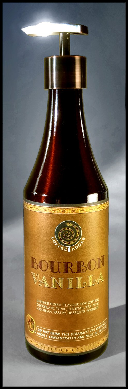 Bourbon and Vanilla Syrup