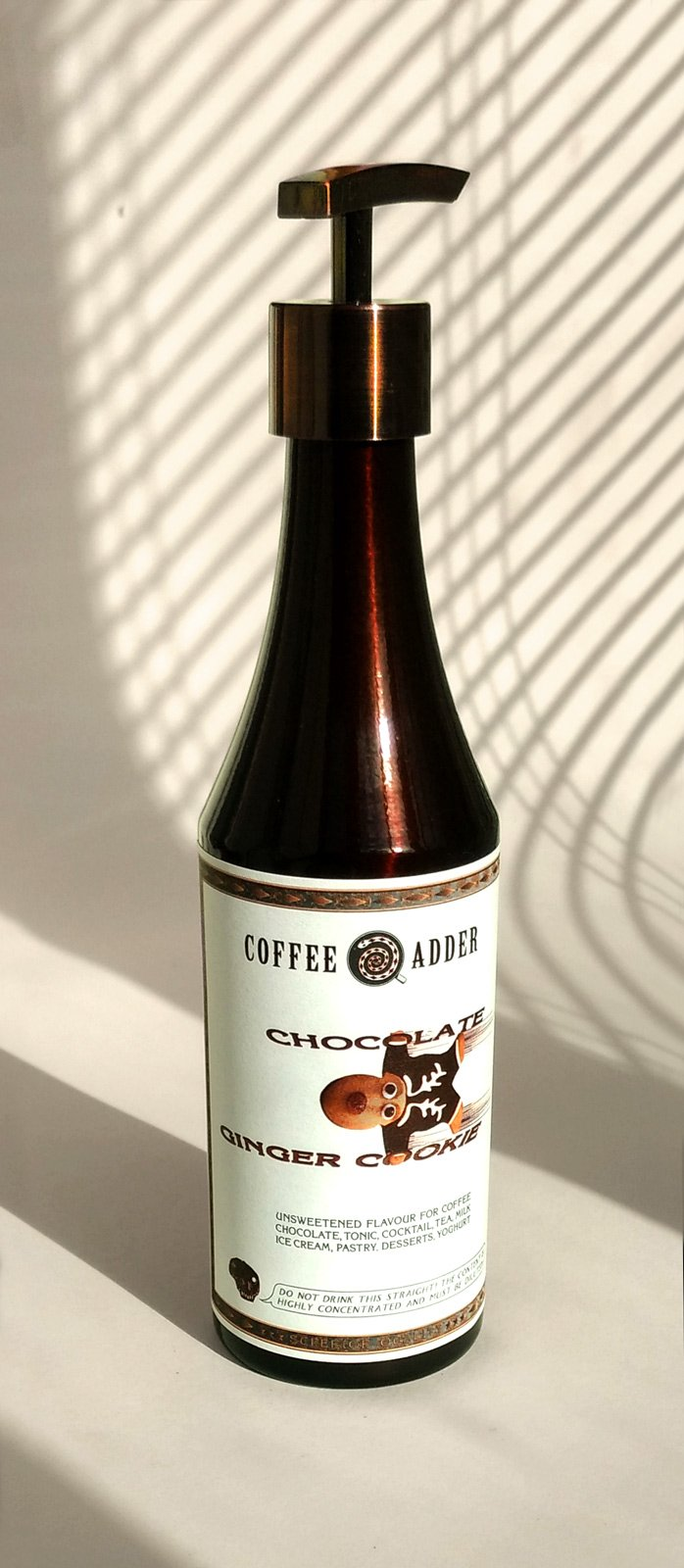 Chocolate Ginger Cookie Syrup