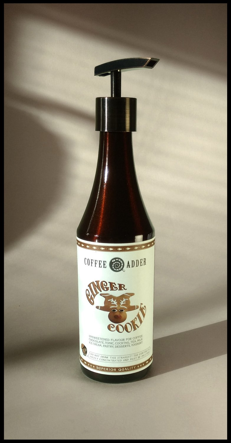 Skinny Ginger Cookie syrup
