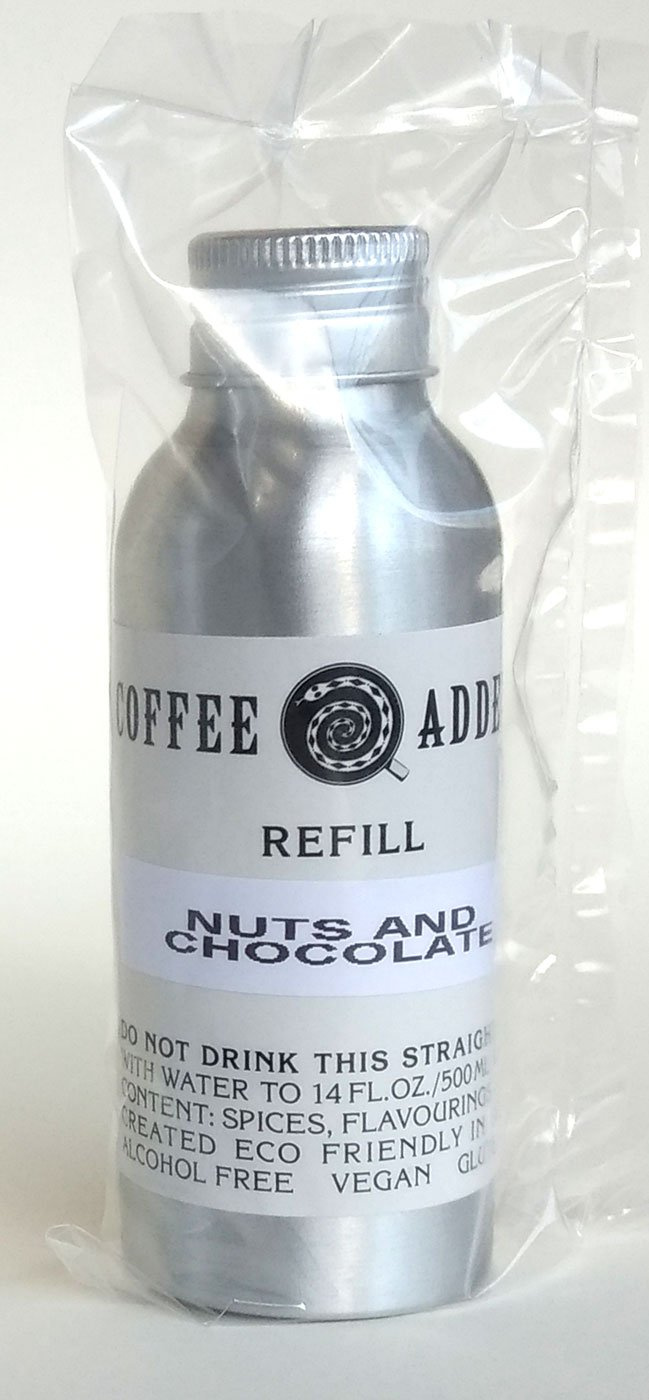 Nuts & Dark Chocolate skinny syrup