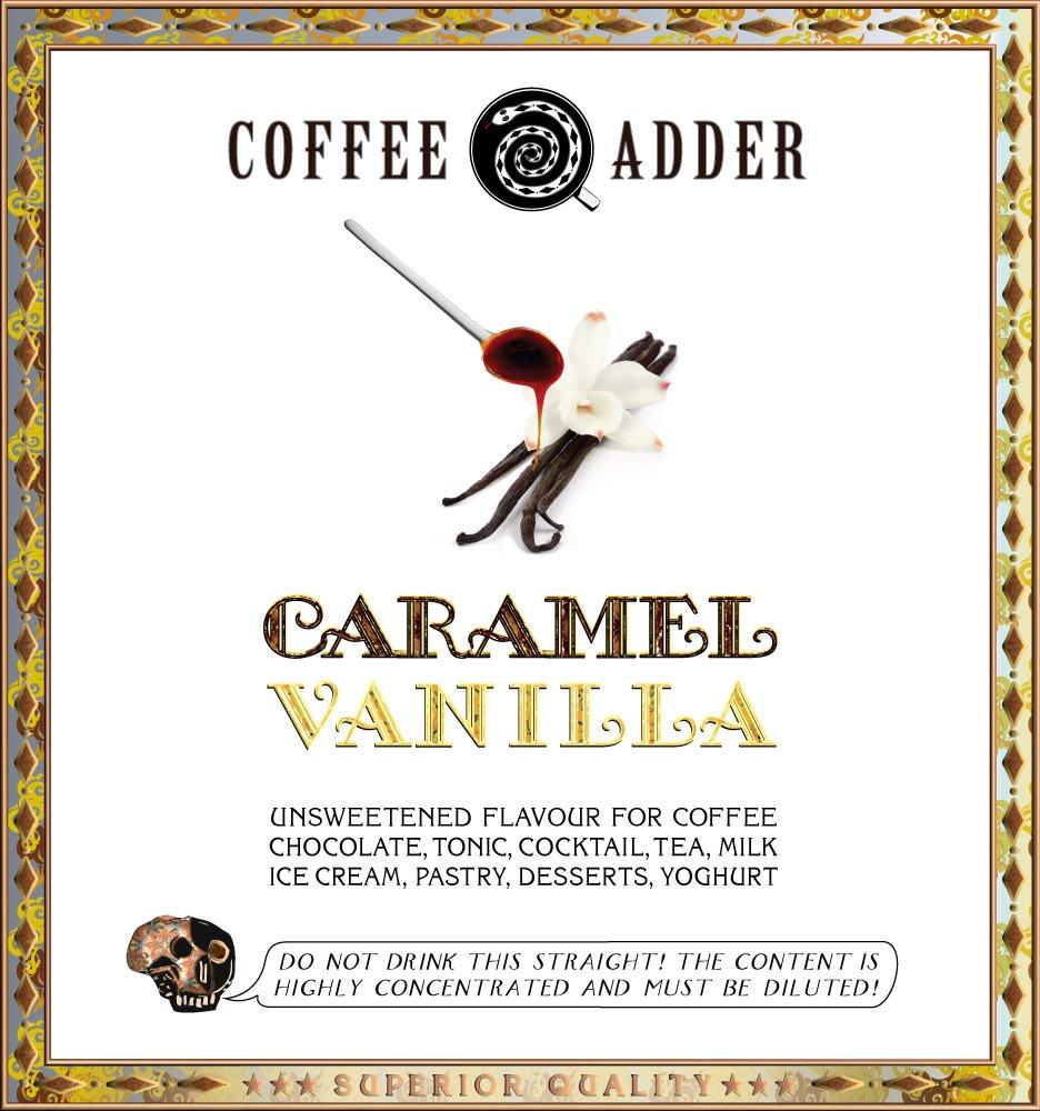 Caramel & Vanilla Coffee Syrup