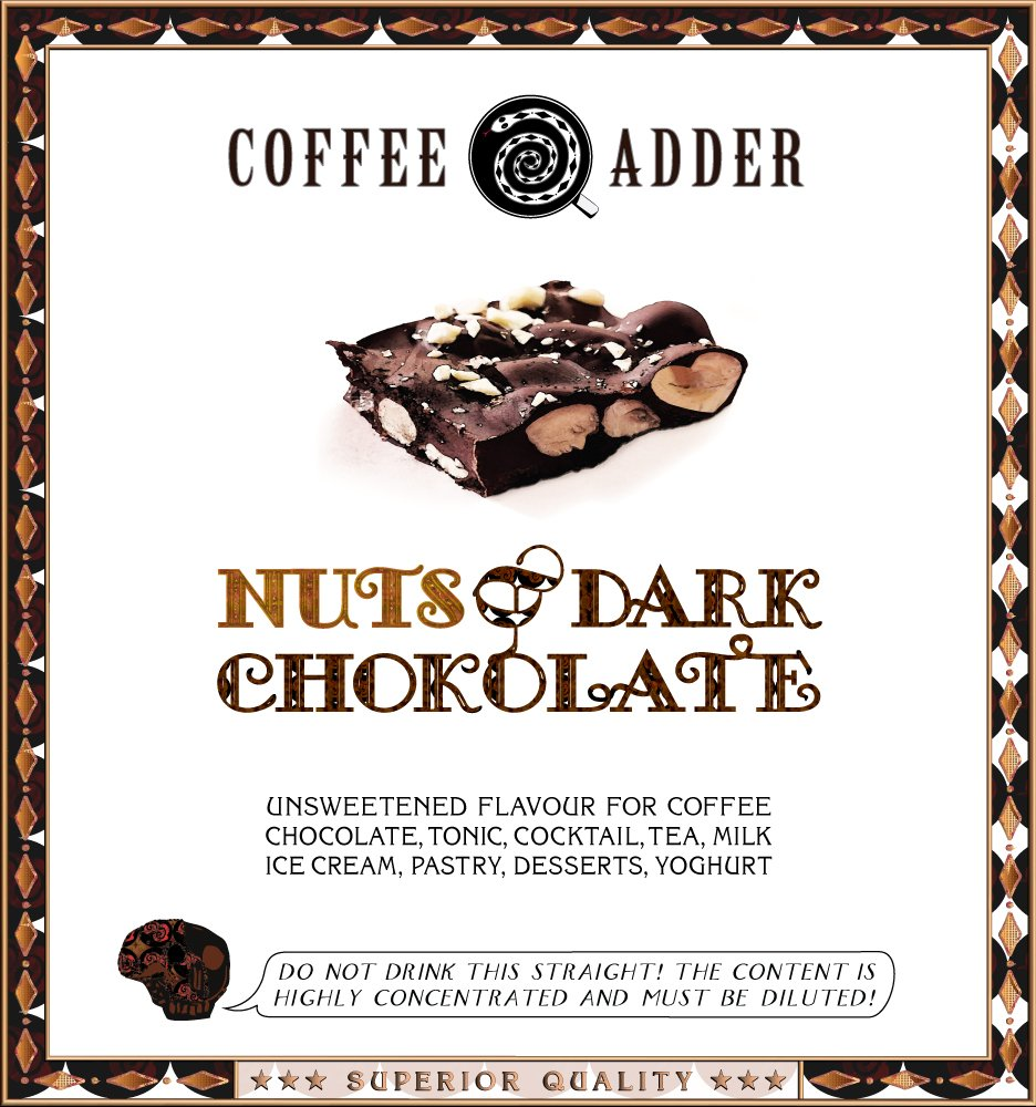 Nuts & Chocolate syrup