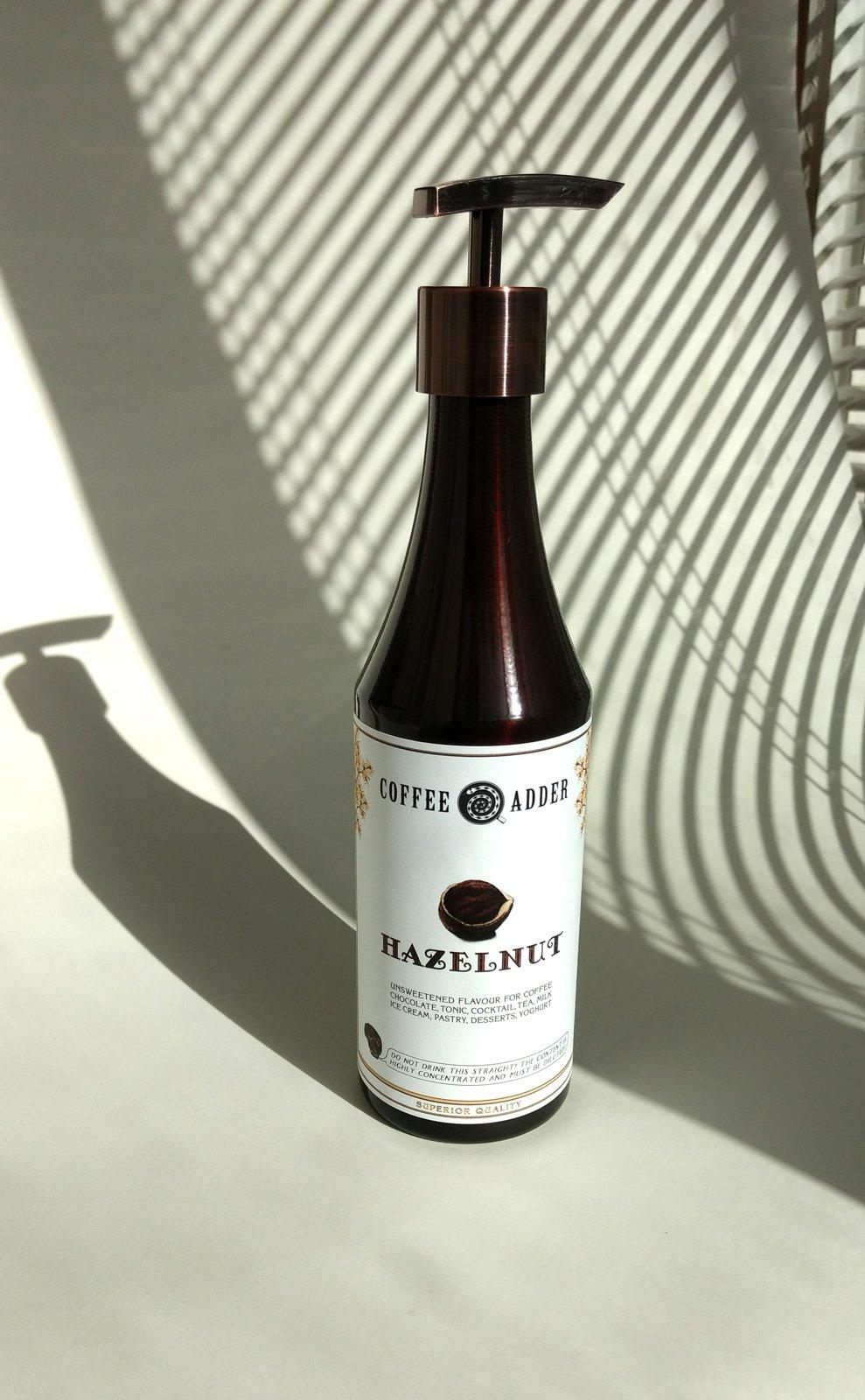 Skinny Hazelnut Coffee Syrup