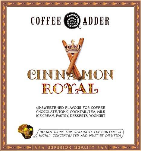 Unsweetened CINNAMON coffee syrup