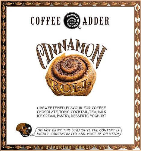 Skinny Cinnamon Roll coffee syrup