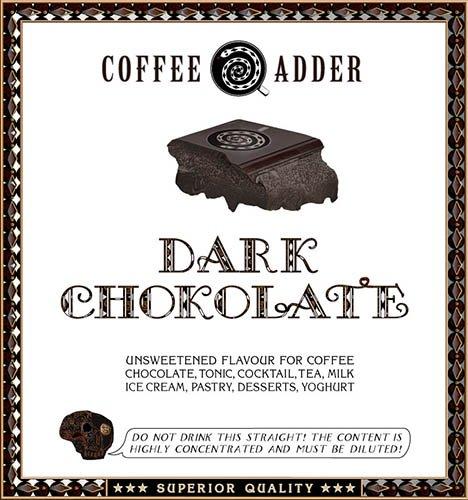 Dark Chocolate coffee syrup
