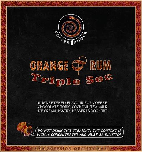 Triple Sec coffee syrup