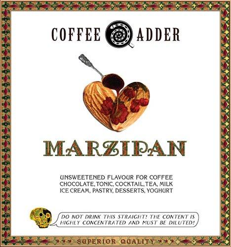 Marzipan coffee syrup