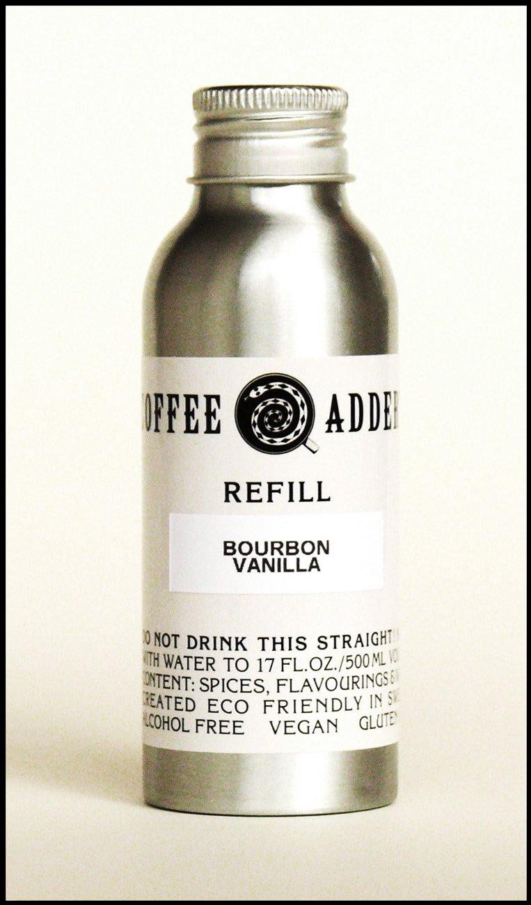 Bourbon Vanilla coffee syrup refill