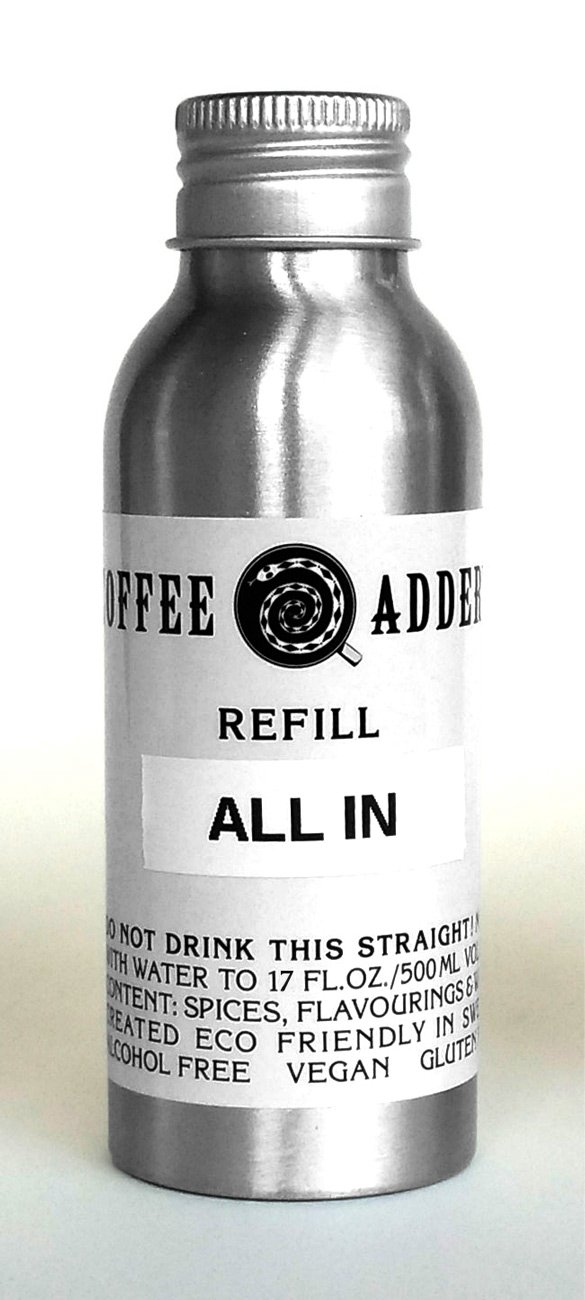 Nuts-Chocolate-Caramel coffee syrup REFILL