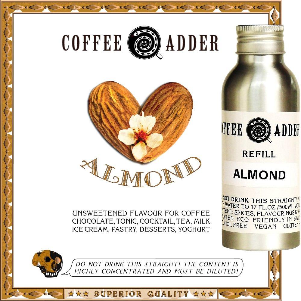 Skinny Almond coffee syrup refill