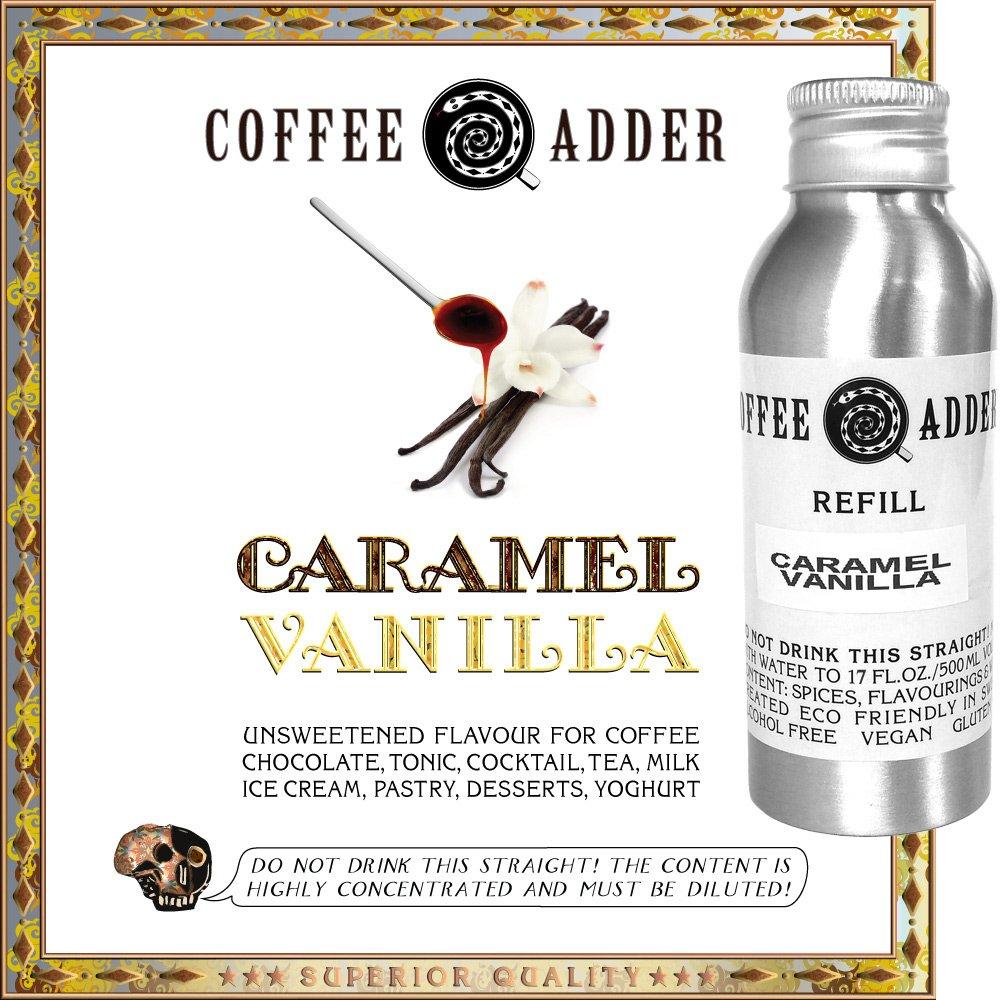skinny Caramel Vanilla Syrup Refill