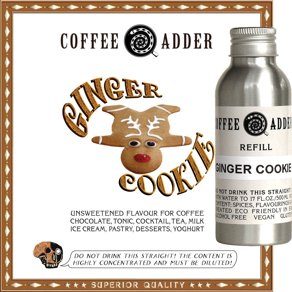 Ginger Cookie syrup refill