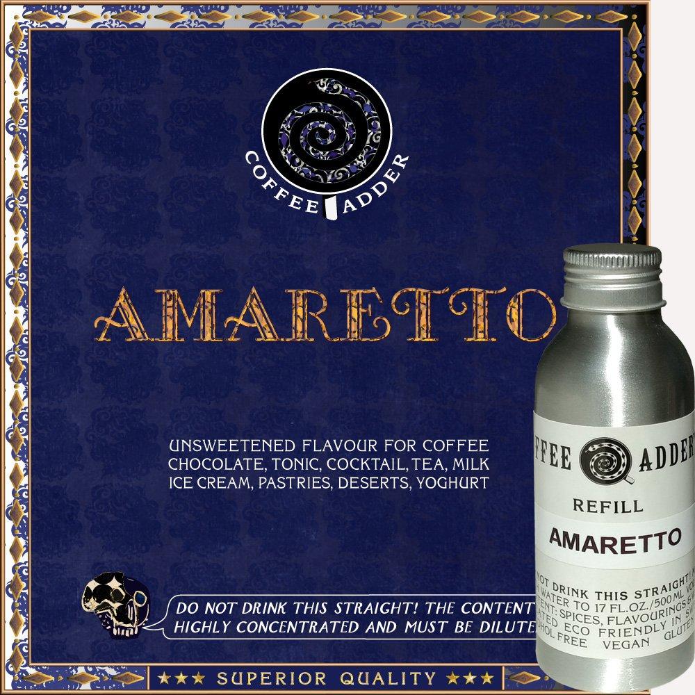 Amaretto Coffee Syrup Refill