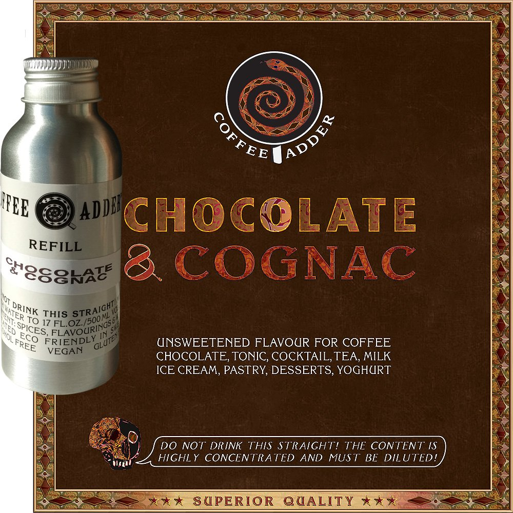 Chocolate Cognac syrup refill