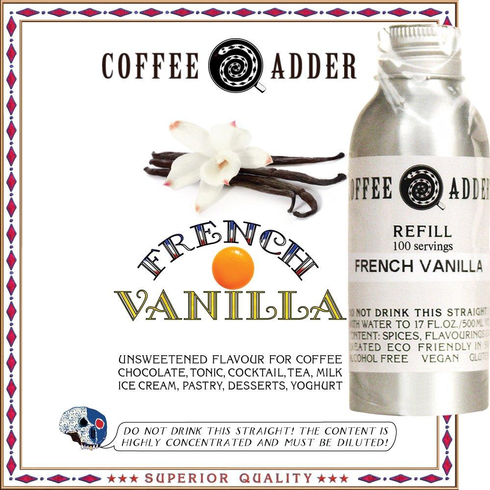 French Vanilla syrup refill
